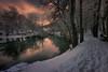 Fontibre (Marce Alvarez.) Tags: fontibre cantabria campoo invierno nikon nieve atardeceres marcealvarez frio landscape locuos