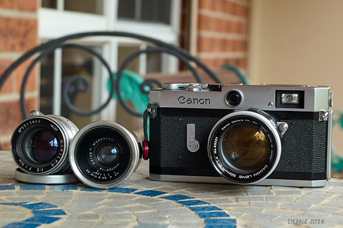 Canon P and 50/1.4 LTM