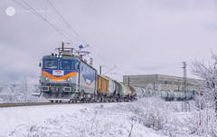 Acid snow (cossie*bossie) Tags: bzk brc bulgarian railway company gfr grup feroviar roman railways freight train sulphuric acid pirdop bulgaria winter snow 060ea le5100 40 0656