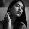 Follow me (la_cla25) Tags: blackandwhite biancoenero portrait ritratto luce light eyes occhi lips labbra beauty beautiful model modella