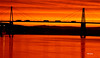 o rio. (verridário) Tags: sunrise ponte mondego sony manhã manana morning alba sun orange agua water river rio bridge sol light sky céu ciel sombra shadow reflex amanecer ref figueiradafoz nehir река râu fluss fiume rivière rzeka most pont brücke 橋樑 puente γέφυρα köprü мост