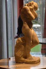 Eva voor de Poort van de Hel, laat 19e eeuw (zaqina) Tags: eva voor de poort van hel groninger museum art gallary ontario toronto marmer