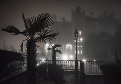 hotel in the fog, jackson square (jody9) Tags: 6am neworleans foggy
