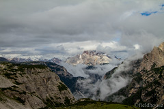 ...through the clouds. (lars feldhaus) Tags: dolomites mountains nature hiking roadtrip clouds sky travel italia