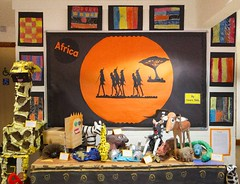 Our Africa Display from 2013