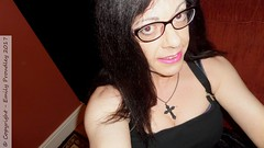 January 2017 (emilyproudley) Tags: crossdresser cd tv tvchix tranny trans transvestite transsexual tgirl tgirls convincing feminine girly cute pretty sexy transgender xdresser gurl glasses top goth closeup