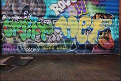Crept / Met (Alex Ellison) Tags: crept met cbm urban graffiti graff boobs