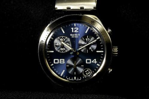 my watch, Swatch chronograph