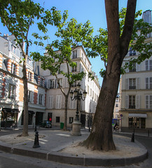 "Three ""takes""  on the Place Furstemberg (1) (wamcclung) Tags: paris architecture square urbanism furstemberg"