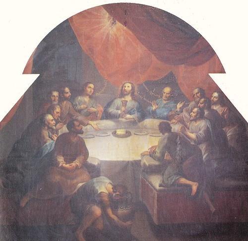 Esta es mi Sangre... Miguel Cabrera, Sacristìa del Extemplo de San Francisco Xavier, hoy Museo Nacional del Virreinato, Tepozotlán, Edo. de México.