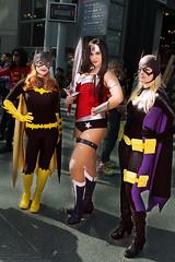 Edward Liu's Batgirl, Wonder Woman, and Batgirl (jason_froebe) Tags: cosplay wonderwoman batgirl dccomics thegimp barbaragordon stephaniebrown edwardliu nycc2013 newyorkcomiccon2013