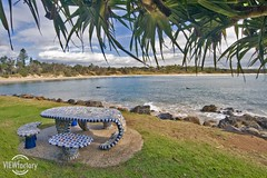 Forster Beach (Lock Stock and Travel) Tags: ocean beach table nikon mosaic australia pacificocean newsouthwales scottshead nswnorthcoast d700 davidnaylor forsterbeach