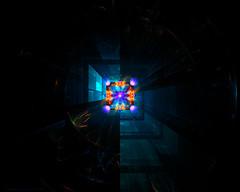 3 subflames (CopperScaleDragon) Tags: digital accident explosion disaster horror fractal elevatorshaft fractalart jwildfire