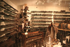 Shoes and boots (Ray Cunningham) Tags: city museum river united missouri arabia kansas states steamboat artifacts 1856