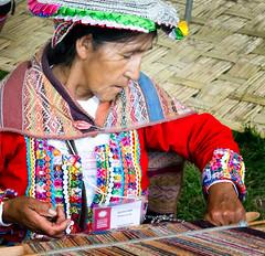 Weaving (vpickering) Tags: peru festival festivals peruvian 2015 smithsonianfolklifefestival folklifefestival 2015folklife