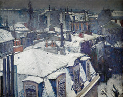 Gustave Caillebotte - Rooftops in the Snow, 1878 at Musee d'Orsay Paris France (mbell1975) Tags: snow paris france art museum painting french gallery ledefrance museu rooftops fine arts muse musee impressionism museo fr impression impressionist muzeum dorsay gustave finearts beaux beauxarts mze gallerie caillebotte musum 1878