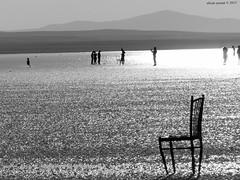 Kodak Z990 Salt Lake sunset silhouette (alican ayman) Tags: sunset white lake black silhouette turkey blackwhite kodak türkiye salt ankara anatolia tuzgölü anadolu silüet şereflikoçhisar kodakz990