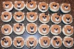 Bear cupcakes by Katy, Linn County, IA, www.birthdaycakes4free.com
