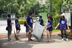 2015-07-31 11.09.40 (pang yu liu) Tags: park charity work yahoo search jul 07 大安森林公園 daan 雅虎 2015 工作 七月 公益