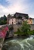 Medieval Quillan (Nomadic Vision Photography) Tags: france castle historical quillan stonebridge pyranees jonreid frenchvillage tinareid catharregion nomadicvisioncom