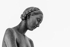 studio di graziosa fanciulla ingnuda (pino piedimonte) Tags: bw woman sexy girl monocromo blackwhite milano statua biancoenero cimitero monumentale nudo monocrome neroamet licwip pinopiedimonte