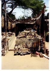 Juju market, Benin