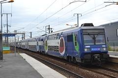 SNCF Transilien 194A 20887 - 20888 (Will Swain) Tags: travel paris france station train de french europe gare north transport july rail railway trains des east railways 13th franais socit parisian fer sncf nationale transilien 2015 chemins 20888 20887 194a noisylesec