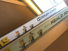 Entertainment, Minions, Century City Theatres, Escalator Graphics