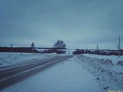 Последний раз взглянём дороге вслед пустой..