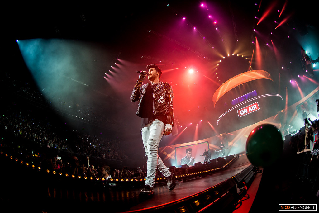 Adam Lambert - 538live XXL