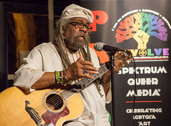 funcrunch-20161214-9932 (funcrunch) Tags: blackberri spectrumqueermedia black concert guitarplayer lgbt performance queer singer oakland california unitedstates us