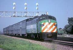 BN E9Am 9905 (Chuck Zeiler) Tags: bn e9 e9am 9905 railroad emd locomotive eola train chz chuck zeiler