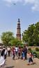 Plane over Qutab minar (François aka Tweek) Tags: delhi india qutab minar