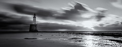 Rattray Light Mono (Grant Morris) Tags: rattraylighthouse rattraypoint monochrome mono blackandwhite blackwhite sunrise sunriseoverwater clouds longexposure nd10 nd scotland canon grantmorris grantmorrisphotography