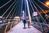 London symmetry (przemyslawkrzyszczuk) Tags: london londyn uk britain england anglia brytania city miasto blue dark night life style lifestyle light citylights swiatlo canon 6d ludzie people street ulica londoner londynczycy noc geometry