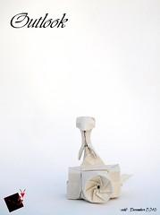 outlook (-sebl-) Tags: origami sebl luc marnat papygami john gerard paper square camera mammals white