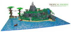 Collab: Tropical Shores (Takkata1) Tags: lego pirate collab