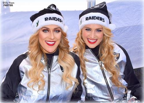 2016 Oakland Raiderettes Jenae & Noelle