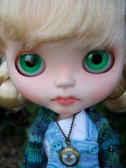 Sammy's green eyes