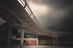 BRT Bus Station Rio de Janeiro (marcelo.guerra.fotos) Tags: riodejaneiro rio transport busstation station brasil brt nikon lightroom light clouds cloudy