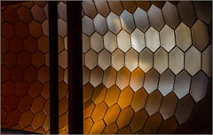 Week 1: Lost in the honeycombs [Explored] (Hervé Marchand) Tags: 2015 abstraction minimal alvéole light honeycomb airedupoitoucharentes architecture pavage dogwood52 dogwood2017 dogwood52week1 52 week challenge