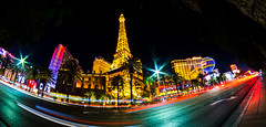 Vegas Strip (singh.kamalpreet) Tags: las vegas nevada long exposure night sky fountains water buildings architecture casino gambling