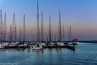 Jachthaven in Herkingen. Marina in Herkingen (On Explore)
