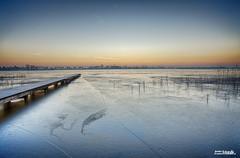 Nannewiid (JJBosma01) Tags: nannewiid light licht fryslan friesland fryskemarren netherlands water ice sky colours hdr canon5dmarkiii canon1740mml sunrise oudehaske