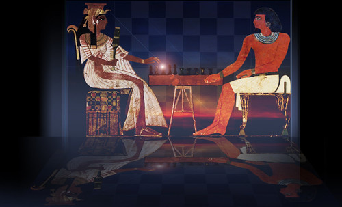 "Senet - Lujoso sistema de objetos lúdicos obsequio del dios Toht a la faraona Nefertari • <a style=""font-size:0.8em;"" href=""http://www.flickr.com/photos/30735181@N00/32521951895/"" target=""_blank"">View on Flickr</a>"