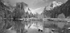 Yosemite Valley (Vasily Spirin) Tags: linhof technorama 617s fujifilm neopan acros iiford perceptol film panorama bw water yosemite park reflection snow 120 landscape specialpicture