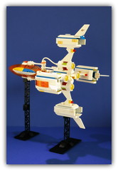 LEGO X-plorer (peter-ray) Tags: lego space ramp launch ship missile rocket razzo interstellar peter ray minifigure mini figure star starship trek mars mission police moc afol diorama samsung nx2000