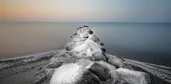"""""""In the depth of winter I finally learned that there was in me an invincible summer"""" - Albert Camus (Christian_from_Berlin) Tags: winter ice cold holstein strand kälte germany seascape beach neustadt coldness sunrise sonnenaufgang eiseskälte deutschland europa eis stilleben sony sonyalpha"""