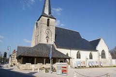 Church next to a castle
