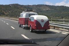 Vintage Travel Camper and Trailer (panoround hutter) Tags: camper vw vwbus vwbulli travel volkswagen wohnmobil vwcampervan camping hanks bob panoroundhutter hutter hutterdesign
